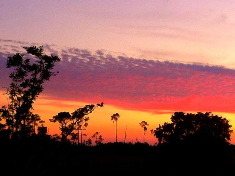 Sunset at Everglades National Park November 2013
